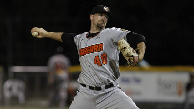 Cavalry closer Sean Toler kept his cool under extreme pressure in game one against Perth.