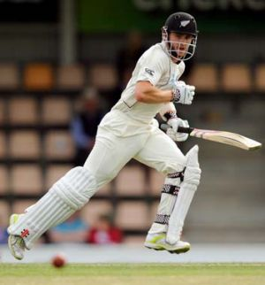 Kane Williamson ... eyeing a typically green Cape Town deck.