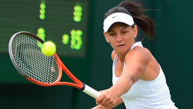 Strings theory ... wildcard entrant Casey Dellacqua says the Sydney International is the perfect preparation for her ...