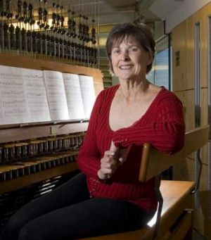 Lyn Fuller will play the Carillon on Tuesday night.