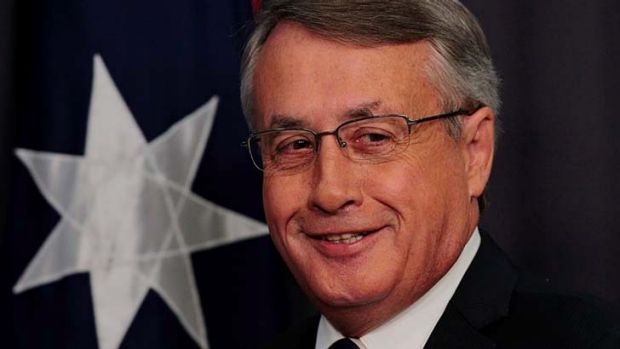 Wayne Swan ... abandoned the budget surplus.