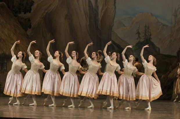 Giselle highlights the unity of style and approach of the Paris Opera Ballet's corps.
