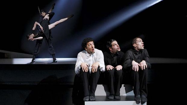Hitting the cinema screen … Nederlands Dans Theater performs Same Difference, choreographed by Paul Lightfoot and ...