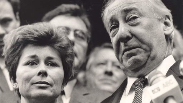 Lionel Murphy with his wife, Ingrid.