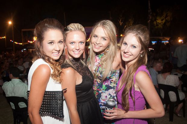 Shannon Wilson-Taylor, Jenna-Lee Fairclough, Anni Prout and Cassie Tyler.