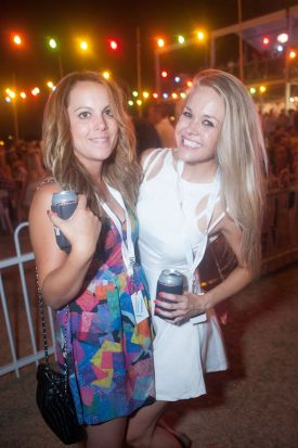 Monique Lagrenade and Kirsty Prien.