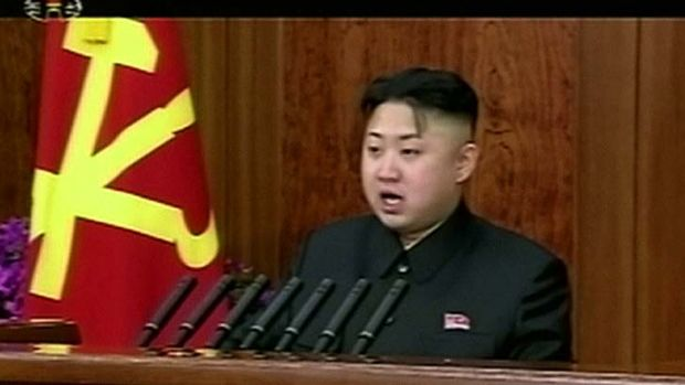 New Year's Day speech ... North Korean leader Kim Jong-un.