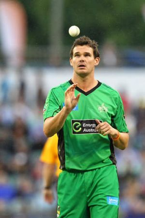 Clint McKay of the Melbourne Stars.