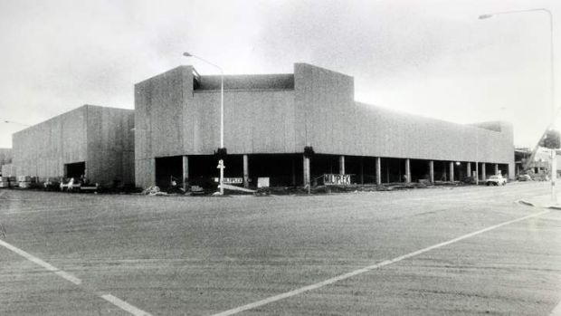 The Hyperdome shopping mall, which Labor decided would be privately built.