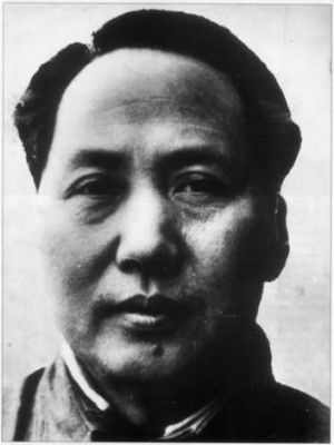 Architect of the famine ... Mao Zedong.