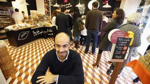 CEO of The Portugese Bakery, Nuno Carvalho, says a crisis is little hindrance to a growth-oriented concept.