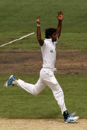 Shaminda Eranga of Sri Lanka has become another casualty on his team's extensive injury list.