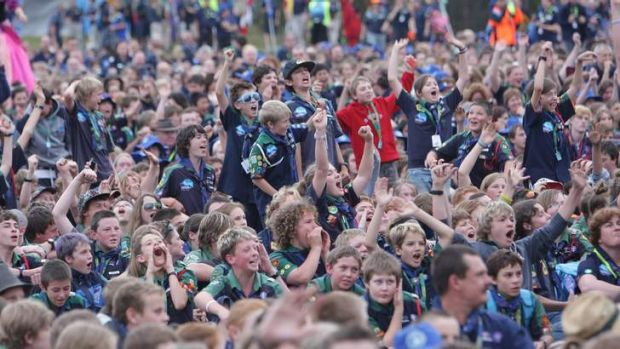 The last Australian Scout Jamboree was held at Cataract Dam, near Appin, NSW. It saw more than 13,000 kids aged from ...
