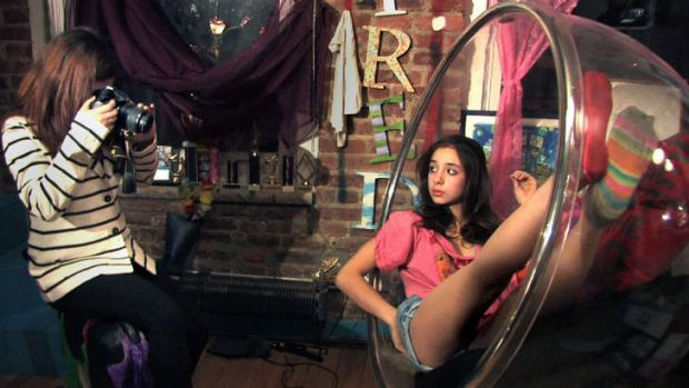 A scene from <i>Sexy Baby</i>, directed by Jill Bauer and Ronna Gradus.