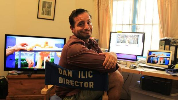 Tropfest hopeful Dan Ilic is rushing to finish his short film.