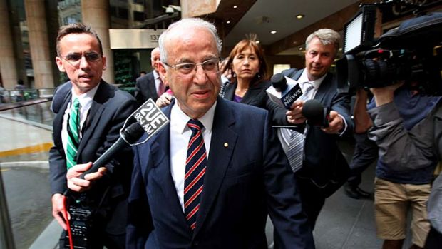 Facing the music ... Eddie Obeid is at the centre of the ICAC's inquiry into corruption.