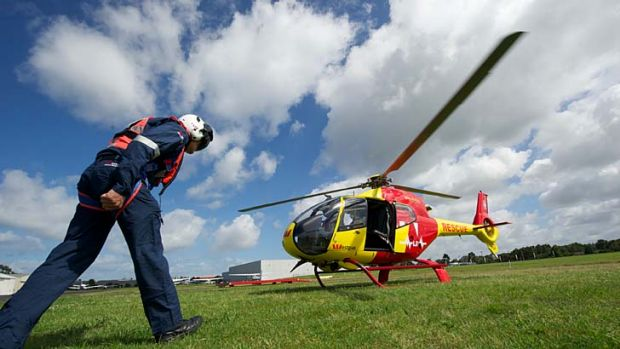 Less is more ... proposed cutbacks will reportedly improve rescue helicopter services.
