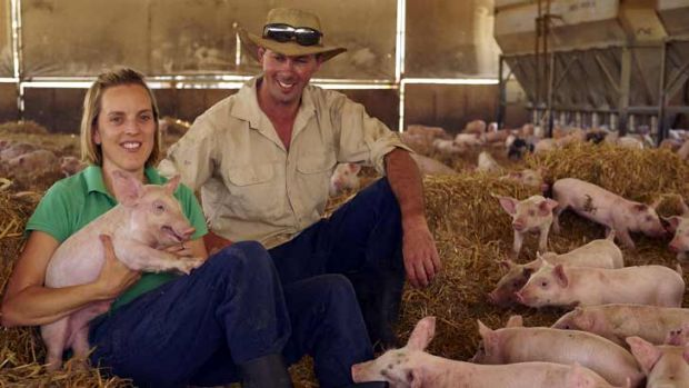 Edwina and Michael Beveridge have gone the whole hog in cutting their emissions.