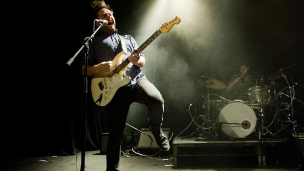 Big sound ... Dappled Cities celebrate their 10th anniversary in a one-off show. Photo: Ashley Mar