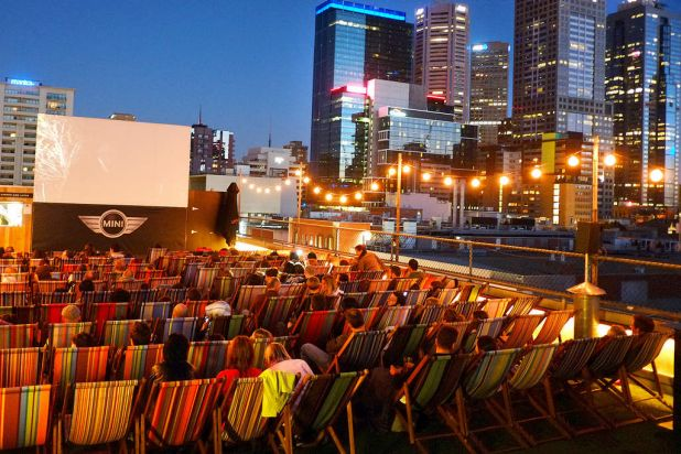 The Rooftop Cinema, Curtin House.