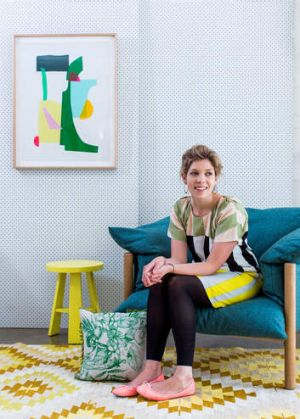 Happy snapper ... Lucy Feagins notes a move back to more modest, crafty decor.