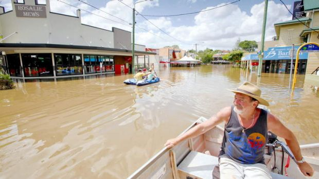 The Brisbane floods were among the disasters to hit insurers.