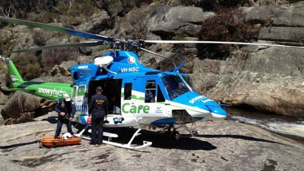 Snowy Hydro helicopter Tuross rescue