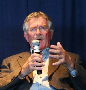 Bob Dwyer at a function in 2010.
