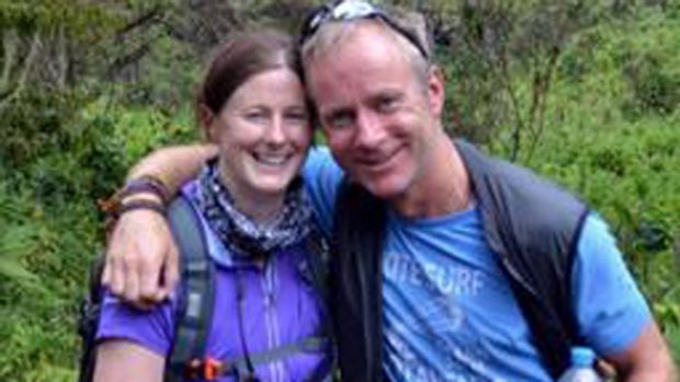 Ian McKeever and Anna O'Loughlin ... they planned to marry in September.