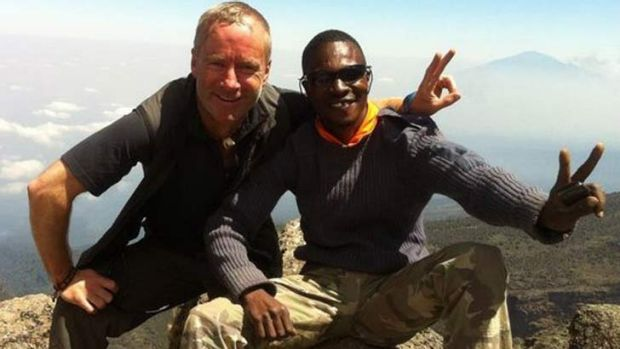 Ian McKeever often led charity climbs up Mount Kilimanjaro.