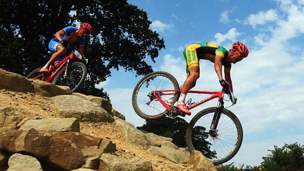 Burry Stander finished fifth at the London Olympics in August.