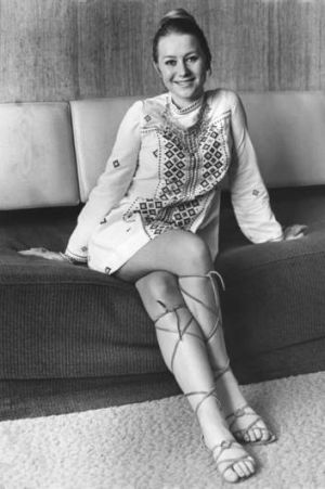 Sydney sojourn ... a 22-year-old Helen Mirren at her Kings Cross hotel in Sydney in 1968.  She was making a film version ...