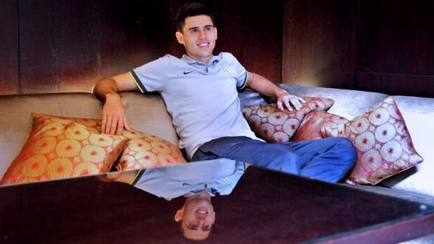 Tom Rogic has been urged not to rush his move overseas.