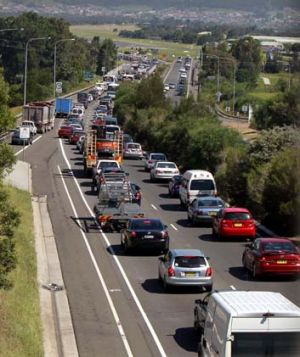 Paid off ... increased government funding in risk locations across Sydney has helped reduce NSW road tolls.