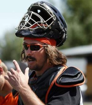 Catcher Jack Murphy is one of the reasons for the Cavalry's rise to the top.