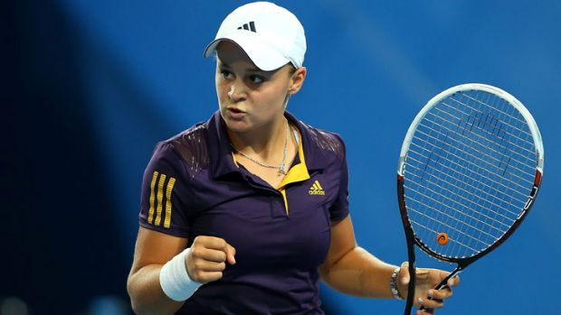 "Ashleigh Barty... ""I think this win trumps everything. The feeling I have right now - the adrenalin is just pumping ..."