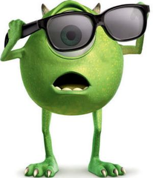 Eye, monster ... Billy Crystal voices the neurotic Mike Wazowski.