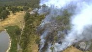 RAW VISION: Tassie fires from above (Video Thumbnail)