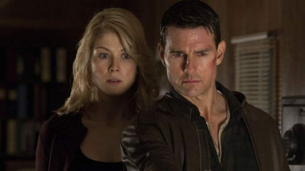 Perfect match ... with Tom Cruise in Jack Reacher.