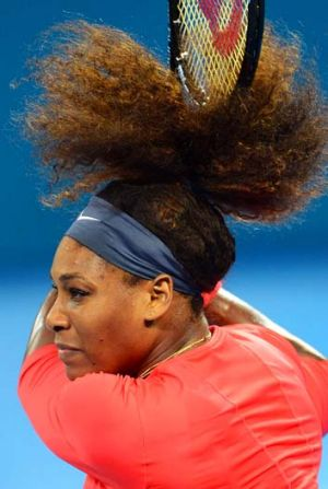 Revitalised … Serena Williams appears unstoppable.