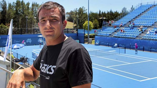 ''I think all the pressure is on Bernard'' … Marinko Matosevic has drawn the giant-killing Bernard Tomic as his ...
