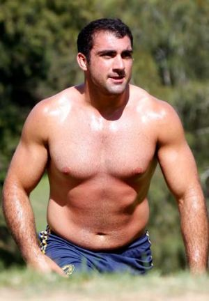 Big plans … Tim Mannah was able to enjoy his Christmas dinner after Eels coach Ricky Stuart gave him the green ...