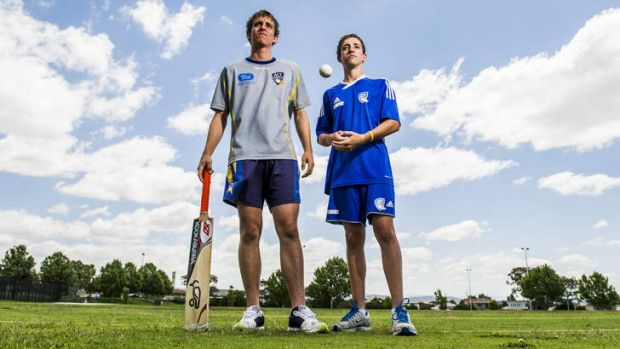 Brothers Dean and Mark Solway are both in the ACT under-19 team.