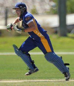 Meteors batter Kris Britt scored 51 runs.