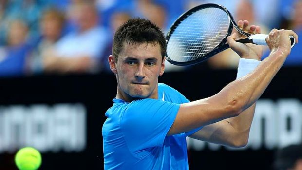 Early break … Bernard Tomic is set for Sydney.
