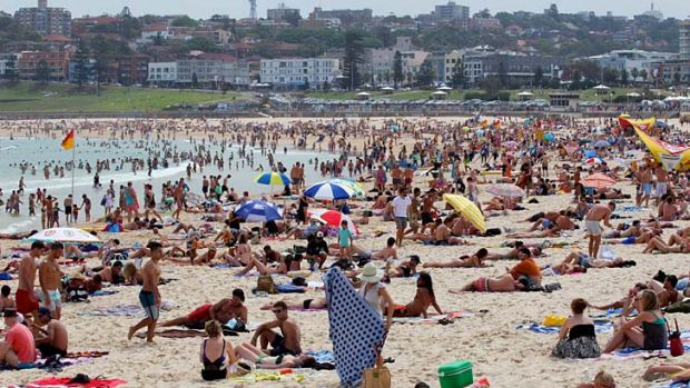 Extreme weather ... more heat is on the way for Australia.