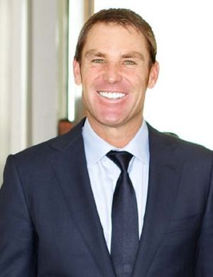Charged for speeding at 165km/h ... Shane Warne.