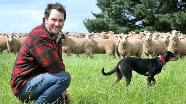 Ty Gilmore is one young Australian who has been drawn to farming but the industry is finding it hard to attract young people.