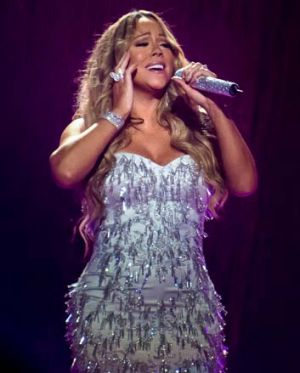 I'll be there: but Mariah Carey was there for less than an hour.