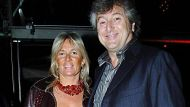 In this photo taken on March 30, 2005 Vittorio Missoni, right, and his wife Maurizia Castiglioni smile in Milan, Italy. ...